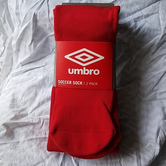 9dc029950949 UMBRO SOCCER SOCKS ADULT 2 PACK NEW MEN WOMEN